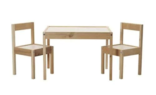 IKEA Original LATT 子供用テーブル チェア2脚付き