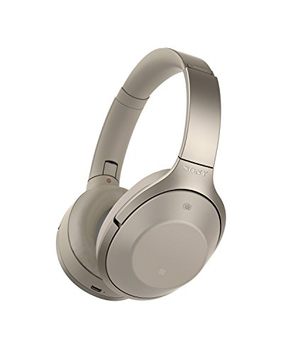 Sony Premium Noise Cancelling, Bluetooth Headphone, Grey Beige (MDR1000X/C) (2016 model)