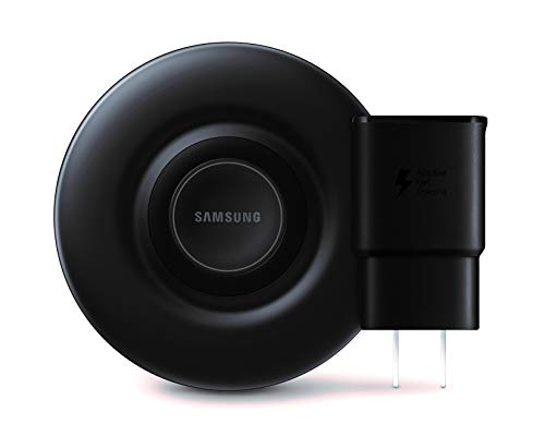 Samsung Qi Certified Fast Charge Wireless Charger Pad (2019 Edition) with Cooling Fan for Galaxy...
