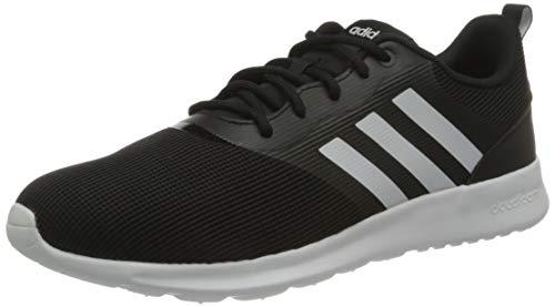 adidas Womens QT Racer 2.0 Running Shoe, CBLACK/FTWWHT/Onix,40 2/3 EU
