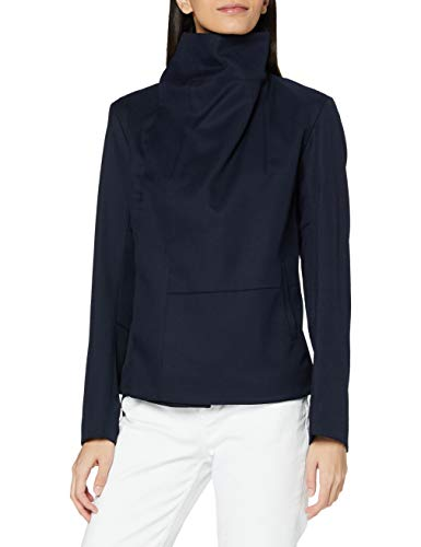 G-STAR RAW Womens Collar Slim Casual Blazer, Naval Blue C523-1501, XL
