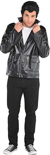 Mens Grease T-Birds Costume Jacket- Plus Size, Multicolor