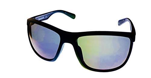 Timberland TB7179 - Gafas de sol rectangulares de plástico para hombre, color negro mate 2X