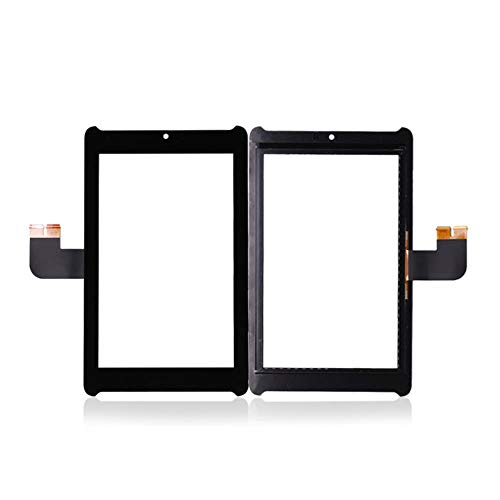 AN-JING Parti di Ricambio for Lo Schermo di ASUS Fonepad 7 LTE ME372 ME372CL ME372CG K00E Tablet PC Touch Digitizer Parte di Vetro Sostituire Panel (Color : Black, Size : 7.0')