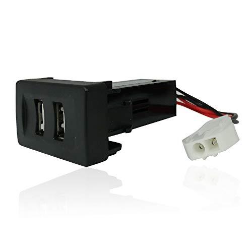2fach Einbau-Steckdose USB-Ladegerät 12/24V Passgenau Neu OVP