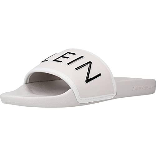 Calvin Klein Jeans Slide Mujer Sandalias Blanco 39 EU