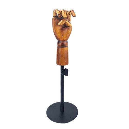 Amagogo Escultura Maniquí Mano Mano Articulada Movible con Soporte Ajustable