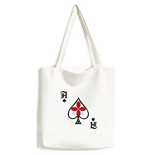 Bolsa de Mano con diseño de Flores de Origami de Navidad Abstracta, para Manualidades, Pala de póquer, Bolsa Lavable