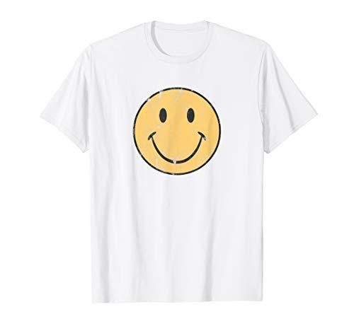 Happy Face | Retro 70's 80's | Vintage 70's Graphic T-Shirt