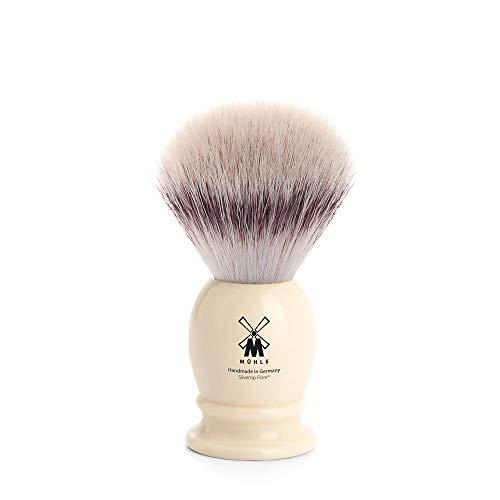 Mühle Classic Rasierpinsel, Silvertip Fibre®, Edelharz Elfenbein