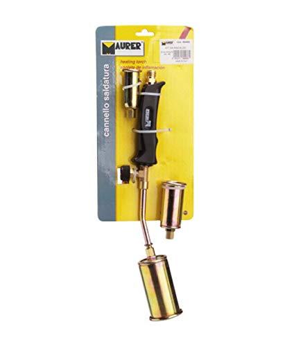 Maurer 2650065Lötlampe mit 3Düsen und Schlauch