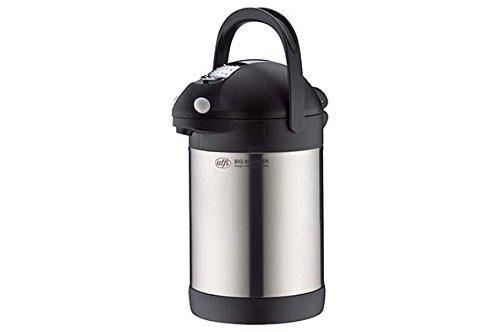 Alfi 0887020220 Big Spender Pichet à Pompe Top Therm Argent 2200 ml