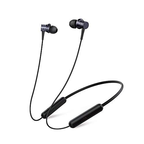 1MORE ワイヤレスイヤホン Bluetooth 5.0 カナル型 イヤホン 複合振動板採用 高音質・低遅延 IPX4日常防水仕様 8時間連続再生 リモコンボタン付き 通話可能 マグネット搭載 MicroUSB端子充電 iPhone/Android対応 E1028BT ブラック