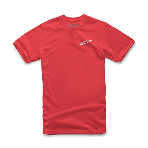 Alpinestars Tea Nueva Ageless Camiseta, Rojo Blanco, S para Hombre