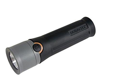 Duracell Voyager - Linterna (Linterna de Mano, Negro, Gris, Caucho, 3 lámpara(s), LED, 188 LM)