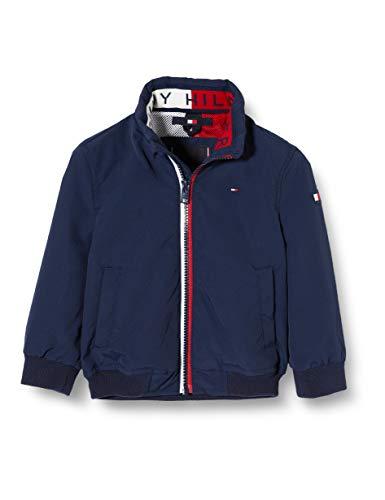 Tommy Hilfiger Jungen Essential Jacket Jacke, Blau (Blue Cbk), (Herstellergröße: 176)