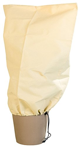 Royal Gardineer Winterschutz Hauben: Kübelpflanzensack als Winterschutz, 80 x 60 cm, 70 g/m² (Pflanzenschutz Hülle)