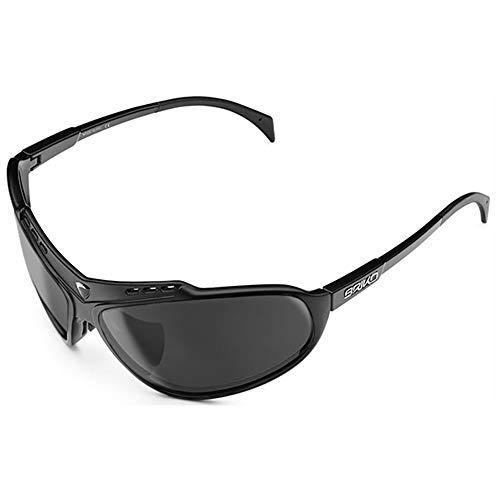 Briko Herren Stinger Brille, 917 Mattschwarz -SM3, One Size