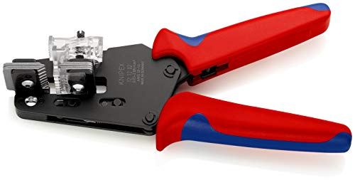 KNIPEX Präzisions-Abisolierzange mit Formmessern (195 mm) 12 12 02