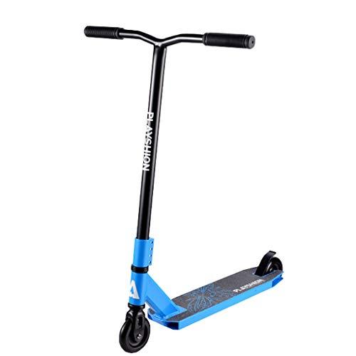 Pro Stunt Freestyle Scooter - Kick Push Complete Park Scooter - para corredores de Freestyle intermedios / avanzados - Rendimiento estable - Ideal para niños de 8 años en adelante - Piezas Premium