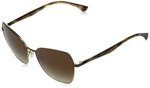 Emporio Armani EA2095-331713-57 - Gafas de sol para mujer, color marrón