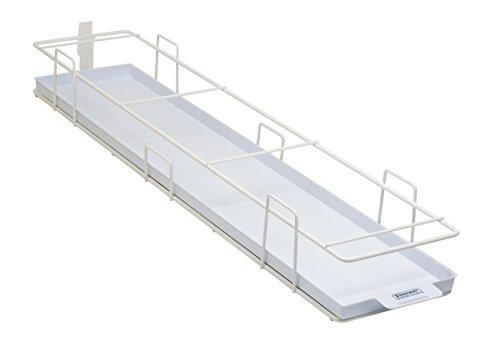 Bel-Art modulair ultralaag vriesrek met lade; 5 plaatsen, 27 x 6 x 31⁄2 in, wit (H18992-0002)