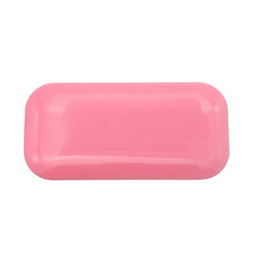 Professionnel individuel extension de cils porte-cils support de cils en silicone pad pour extensions de cils supports de cils front colle palette transparente couleur (rose)