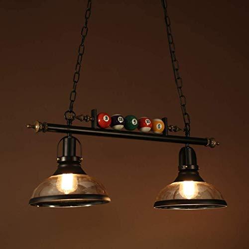 LED Kronleuchter, Pendelleuchte Höhe Verstellbarer Billardtisch Landhausstil, Billard Lampe Schmiedeeisen Lampen Innenbeleuchtung Dekoration