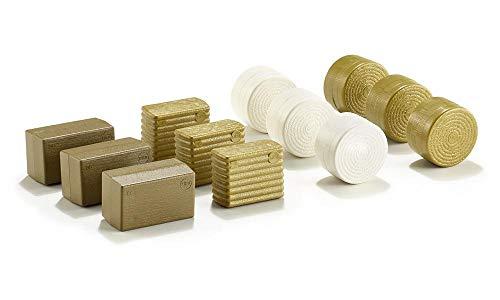 SIKU 2463, Ballensortiment, 1:32, Kunststoff, Gold/Weiß, 3 x 4 verschiedene Variationen