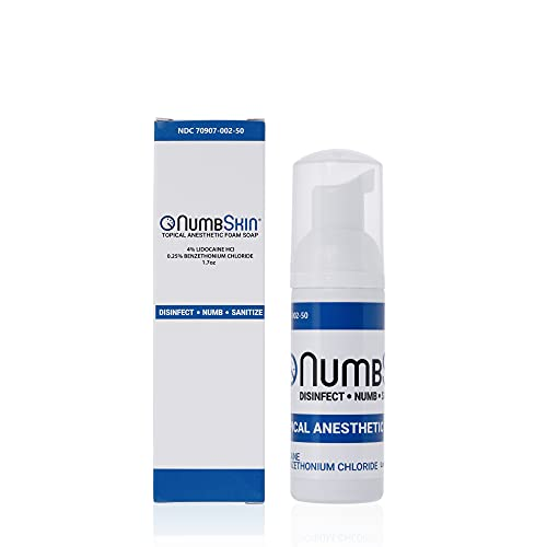 Numbing Foam Soap 4% Lidocaine Topical Anaesthetic