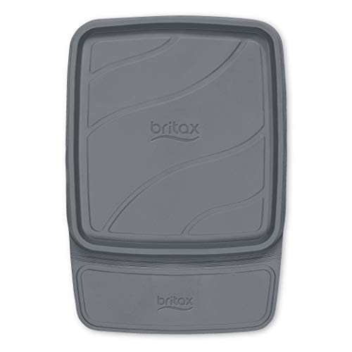 Britax Vehicle Seat Protector | Crash Tested + No Slip Grip + Waterproof Easy to Clean + Raised Edges Trap Spills and Debris