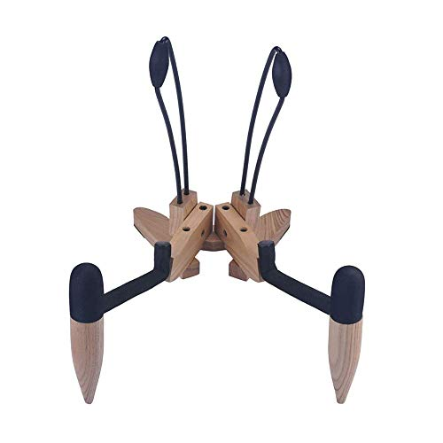 N&G Daily Equipment Guitar Stand Guitar Stand Universal Wooden Guitar Stand with Soft Rubber Covering Portable Foldable for Musical String Instrument and Acoustic Classical Guitars for Guitars Bass