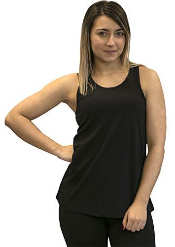 Softee T-Shirt pour Femme S Noir