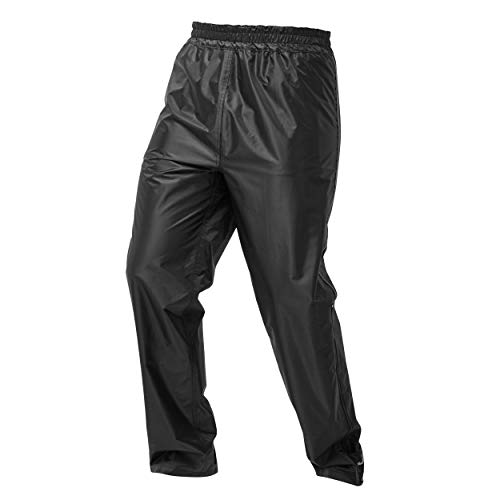 JDC Sobre Pantalón Impermeable Para Moto Unisex Para Lluvia - DRENCH - L - Largo Regular