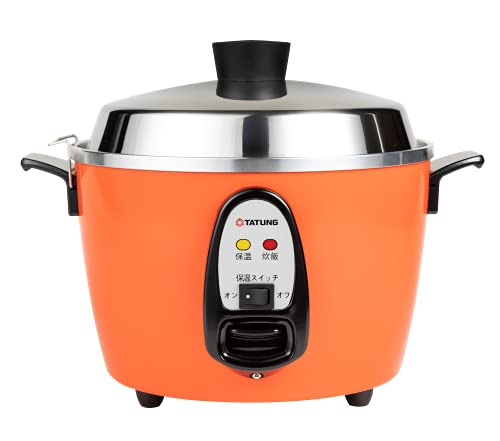 【TATUNG 公式販売店】大同電鍋(電気釜) 炊飯器 6合 ー赤ー Mサイズ 【正規品】