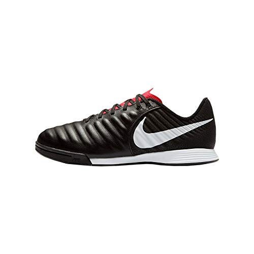 Nike JR Legend 7 Academy IC, Zapatillas de fútbol Sala Unisex niño, Multicolor (Black/Pure Platinum-lt Crimson 006), 33 EU