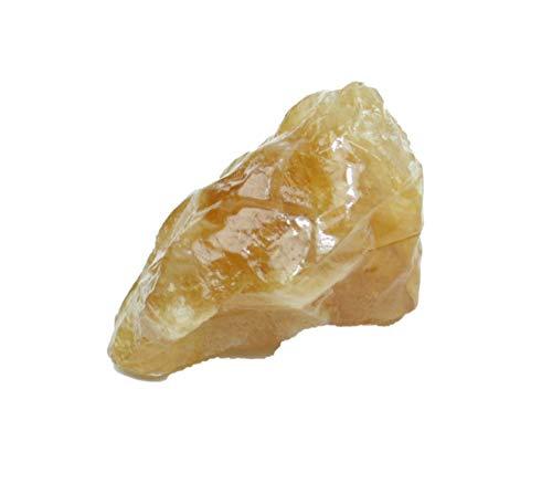 Steinfixx Honigcalcit Edelstein I Heilstein I Rohstein I Wasserstein I Mexiko (10-20gr)