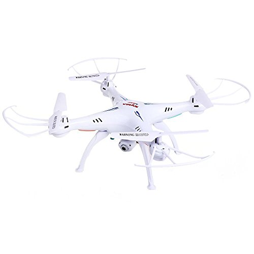 Syma X5Sc-1 - Drone Cuadricóptero con Control Remoto y Cámara Hd, Blanco
