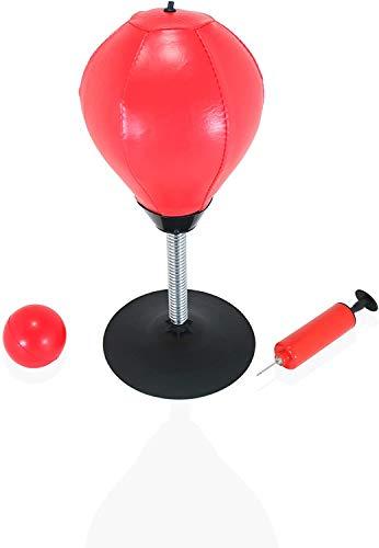 Anchy Punchingball für Schreibtisch, Stressabbau mit Metallfeder, für Erwachsene und Kinder, kommt mit Anti-Stress-Ball