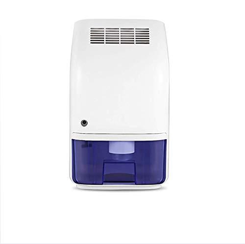 Mini deumidificatore elettrico, 1200 piedi cubi (150 piedi quadrati), compatto e portatile, può essere utilizzato in casa, cucina, bagno, cantina, roulotte, ufficio, camper, garage ad alta umidità