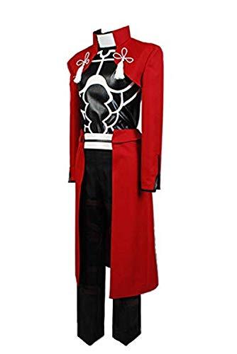LBWNB Conjunto de uniforme Sansa Stark, disfraz de cosplay para mujer, princesa medieval, reina, vestido largo renacentista con capa (color rojo, talla: M)
