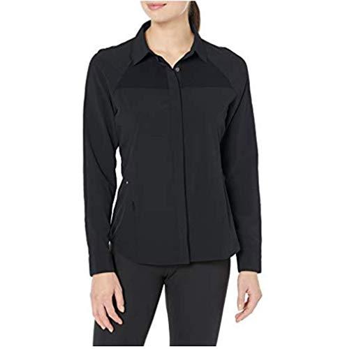 Hi-Tec Foraker City Camisa para Mujer, Mujer, H3F9S604-BLK-L, Negro, Large