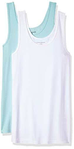 Fashion Shopping Amazon Essentials Women's 2-Pack Slim-Fit Tank