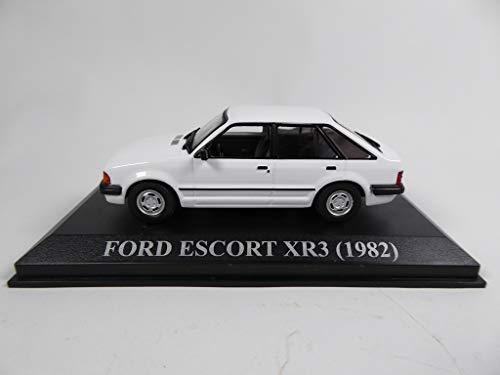 OPO 10 - Coche 1/43 Compatible con Ford Escort XR3 1982 Blanco (RBA45)