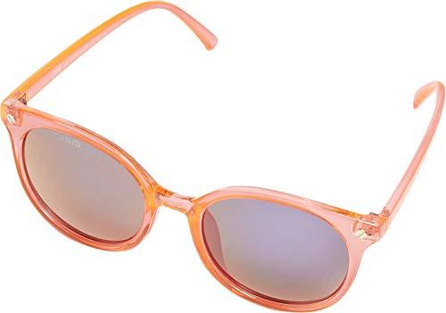 Urban Classics Unisex 108 Sunglasses UC Sonnenbrille, Neonorange/Black, one Size