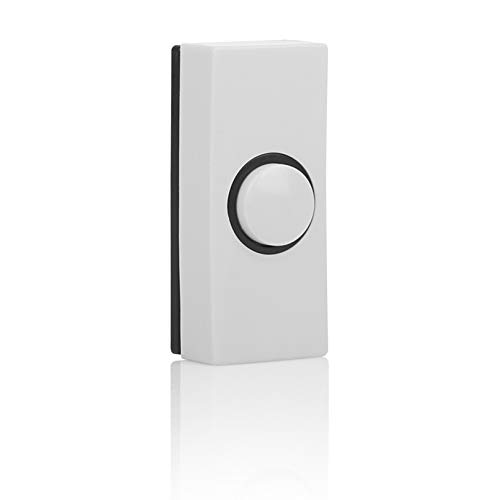Byron 7910 Verdrahteter Universal-Klingeltaster in weiß