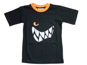 Wilde Kerle T-Shirt Grins, schwarz, Gr. 128, 3500-031