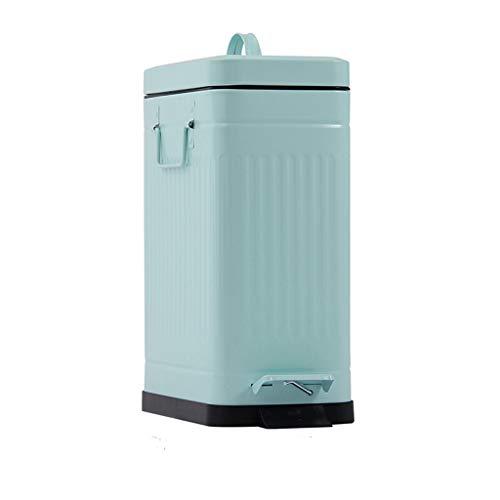 TONG YUE SHOP Poubelle Verte Poubelle de Cuisine de Grande capacité muette de capacité 10 litres