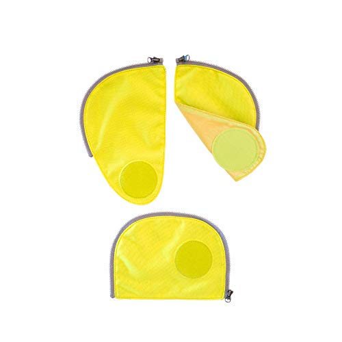 Ergobag Sicherheits-Set, Ergobag Pack, Set 3-teilig, Gelb