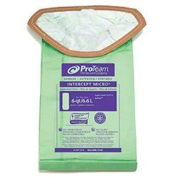 Zoom Supply Proteam 107314 Vacum Bags, Industrial-Grade Proteam SuperCoach Vacum Bags, SuperCoach Pro 6 Vacum Bag Filters -- Trap Dangerous Airborne Invisible Partciulates